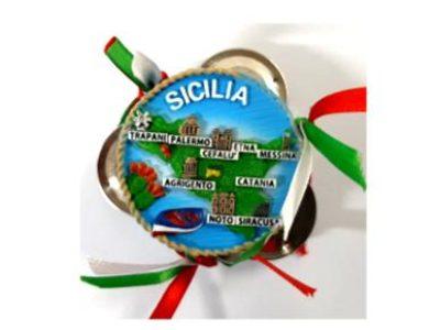 MAGNETE TAMBURELLO SICILIA cod. PLTAMBSIC