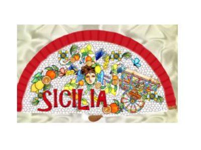 VENTAGLIO LEGNO SICILIA  cod. PPV100-2