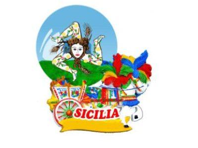 BOLLA SICILIA TRINACRIA  45 cod.PR4535